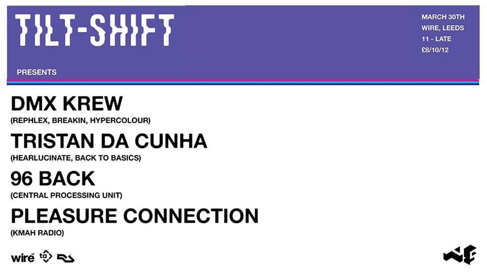 Tilt-Shift w/ DMX Krew, Tristan Da Cunha, 96 Back