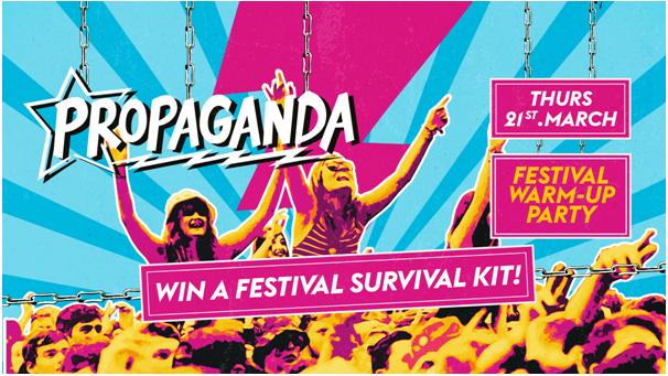 Propaganda Bath – Festival Warm-Up Party!