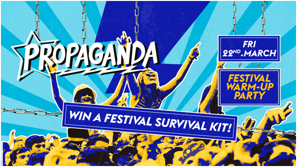 Propaganda Bournemouth – Festival Warm-Up Party!