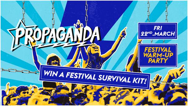 Propaganda Cambridge – Festival Warm-Up Party!