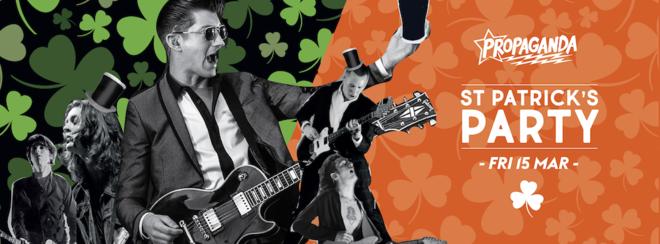 Propaganda Edinburgh – St Patrick's Party!