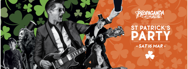 Propaganda Leeds – St Patrick's Party!