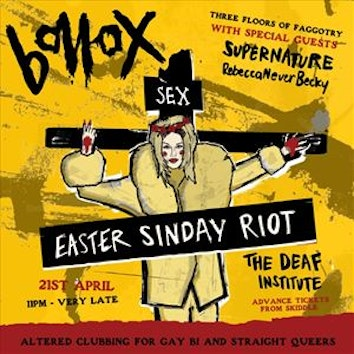 Bollox Easter Riot