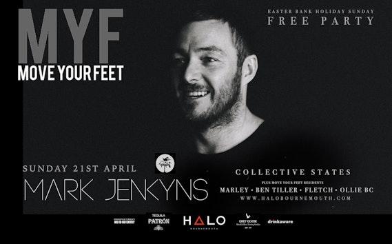 MYF – FREE PARTY w/ Mark Jenkyns