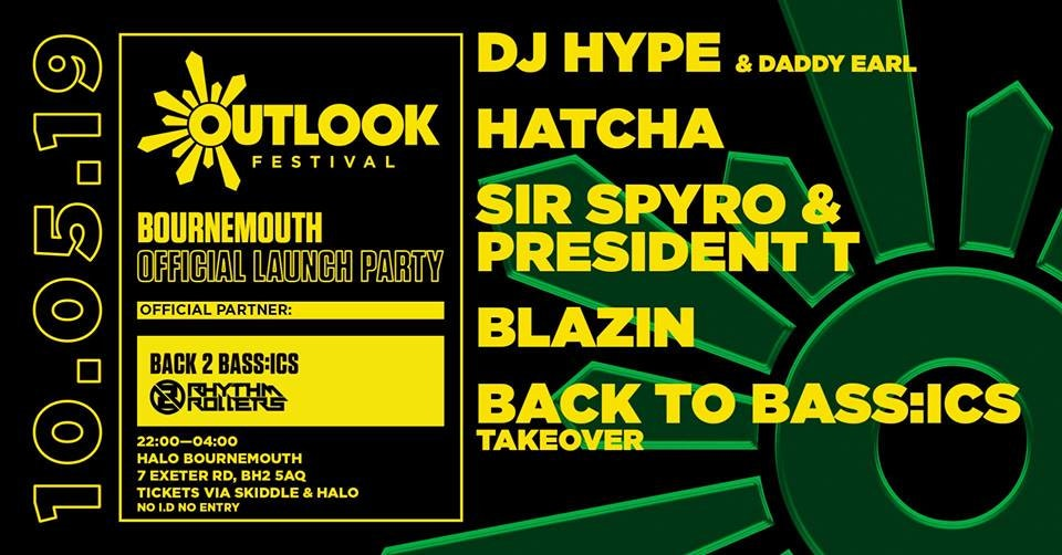 Outlook Festival 2019 Official Launch party