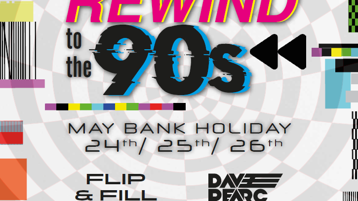 Rewind to the 90's Weekend