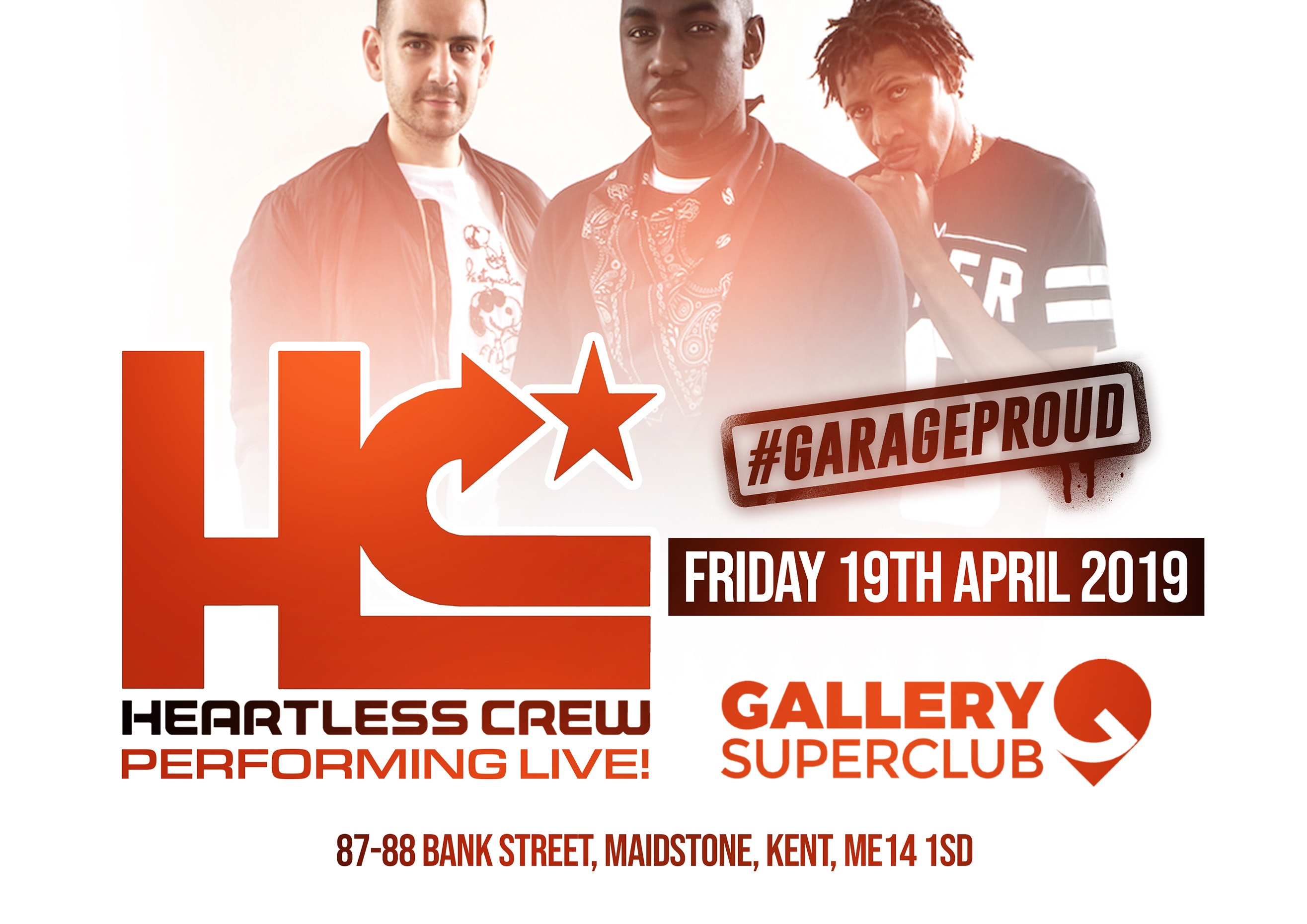 Garage Proud X – The Easter Ball w/ The Heartless Crew (Fonti, Bushkin & Mighty Moe)