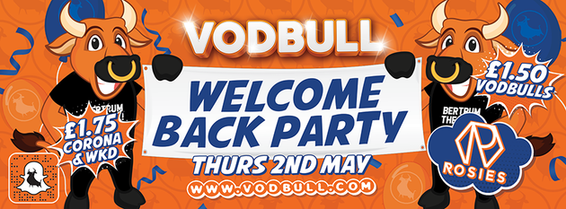 🥳 Vodbull Welcome Back Party!! 🥳