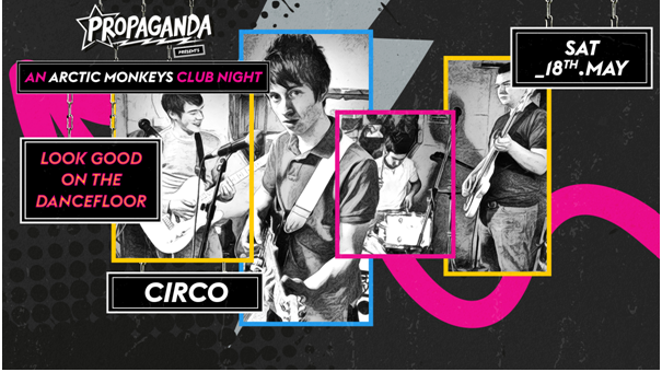 Look Good On The Dancefloor: An Arctic Monkeys Club Night!