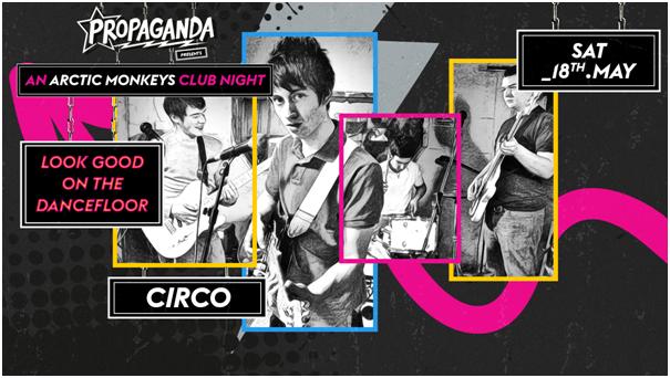 Look Good On The Dancefloor: An Arctic Monkeys Club Night!
