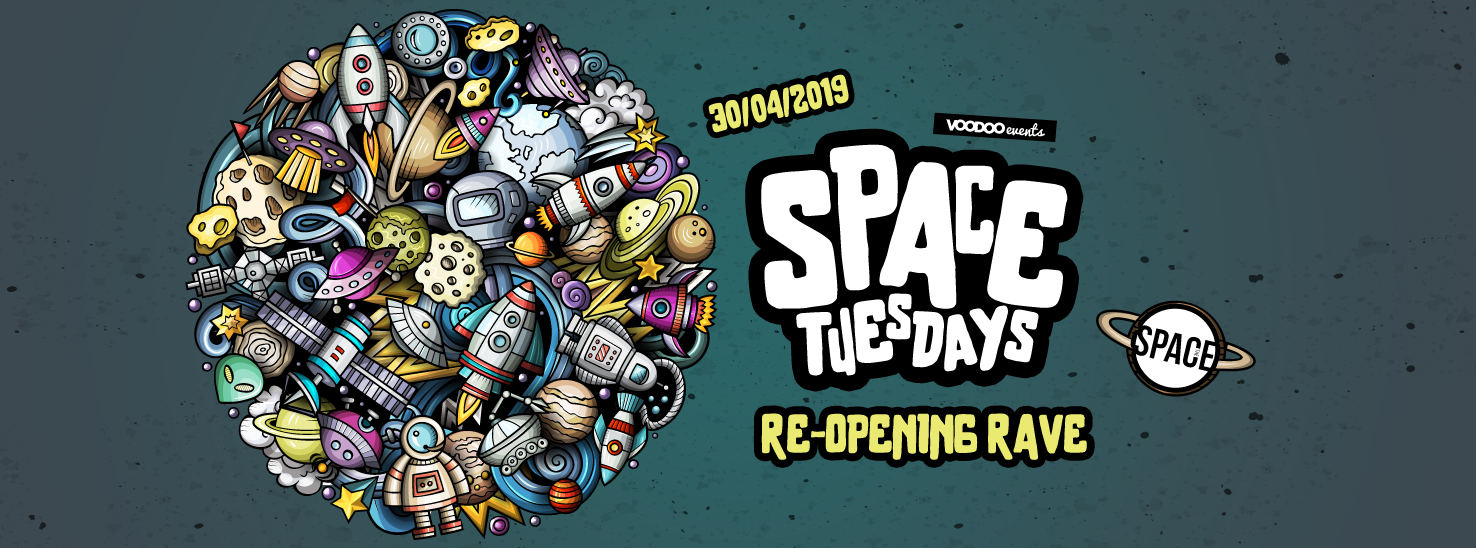 Space Tuesdays : Leeds – Re Opening Rave