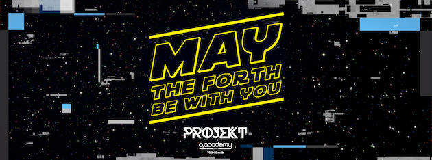 PROJEKT – Saturdays at O2 Academy – May The 4th Be With You!
