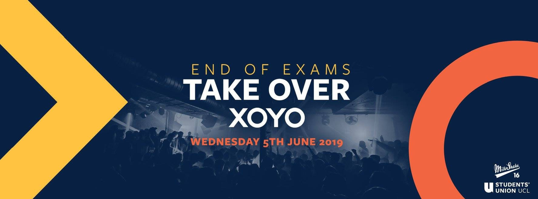 XOYO – End OF Exams Take Over | June 5th 2019