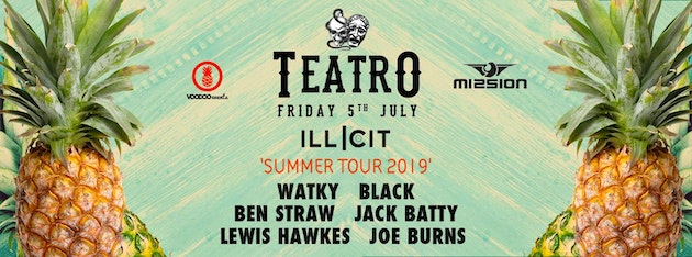 Teatro x Illicit : Summer Tour – Mission Leeds