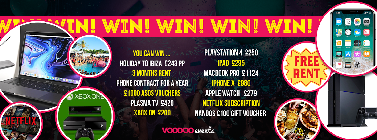 WIN!!! SHEFFIELD FRESHERS COMPETITION – FREE COMPETITION!