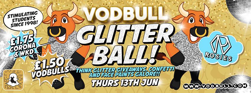 The Vodbull Glitter Ball!