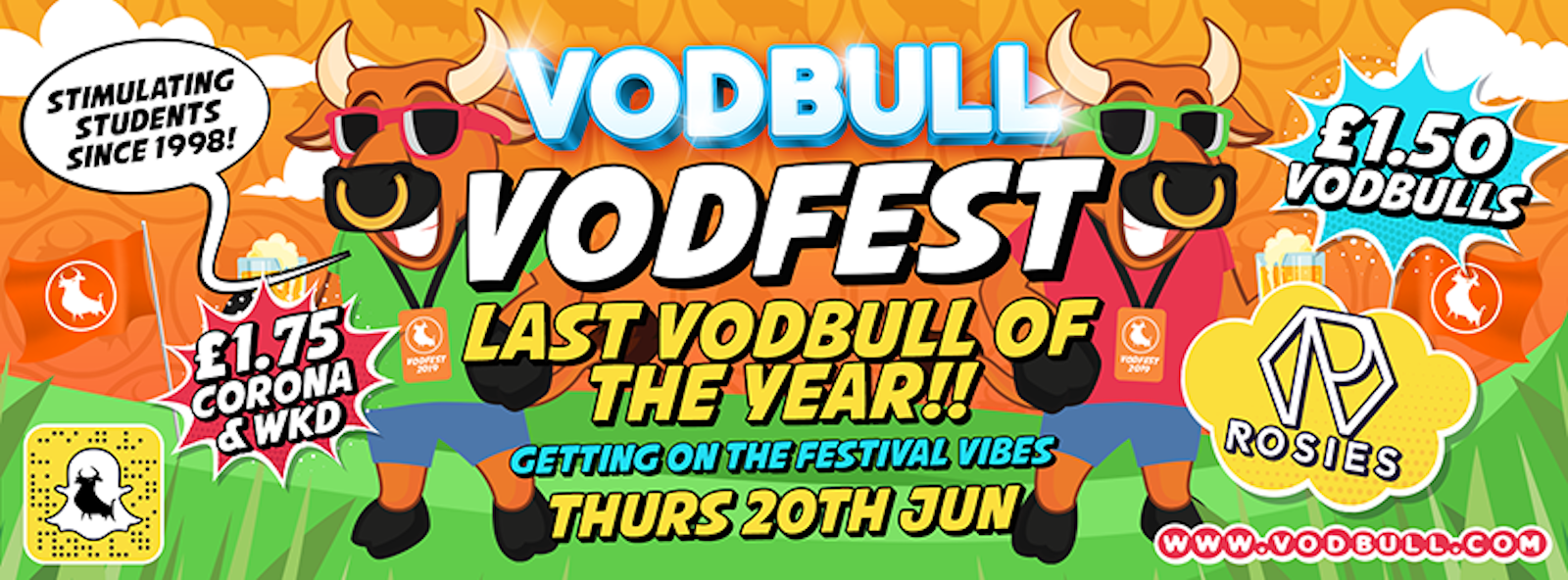 VODFEST!! FINAL VODBULL OF THE YEAR!!!! {75% SOLD OUT}