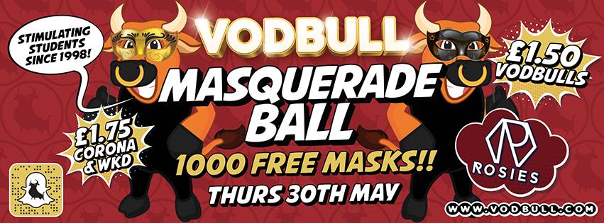 The Vodbull Masquerade Ball