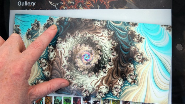 artist's digital books and graphic novels