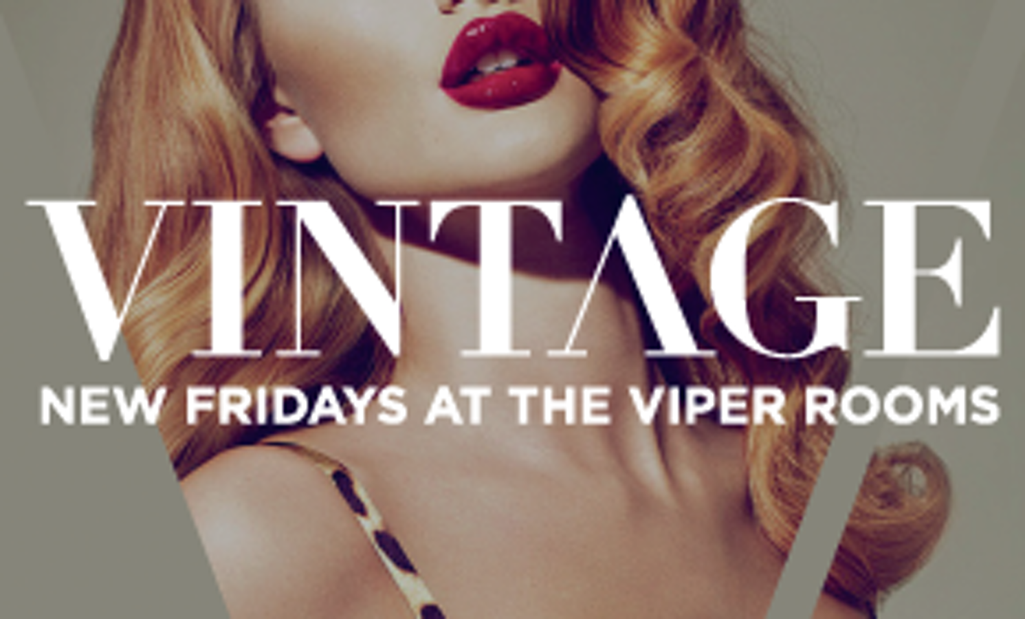 VINTAGE FRIDAYS – CLOSING PARTY
