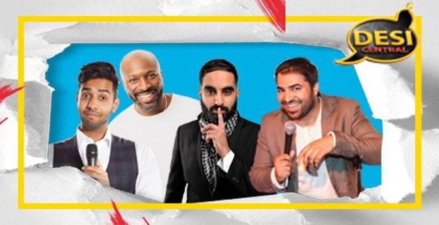 Desi Central Comedy Show : Manchester