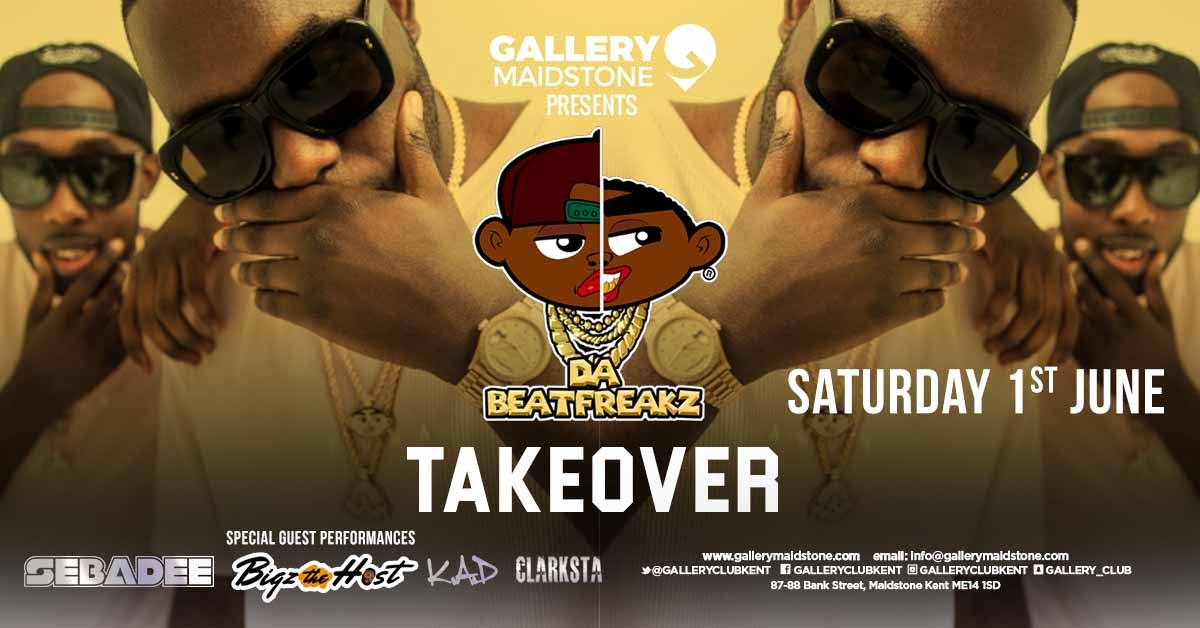 Gallery Presents DA BEATFREAKZ TAKEOVER!