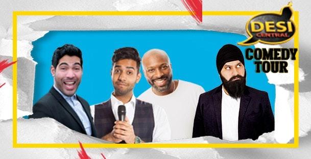 Desi Central Comedy Show : Slough