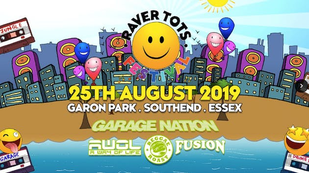 Raver Tots Outdoor Festival August Bank Holiday 2019 Raver Tots