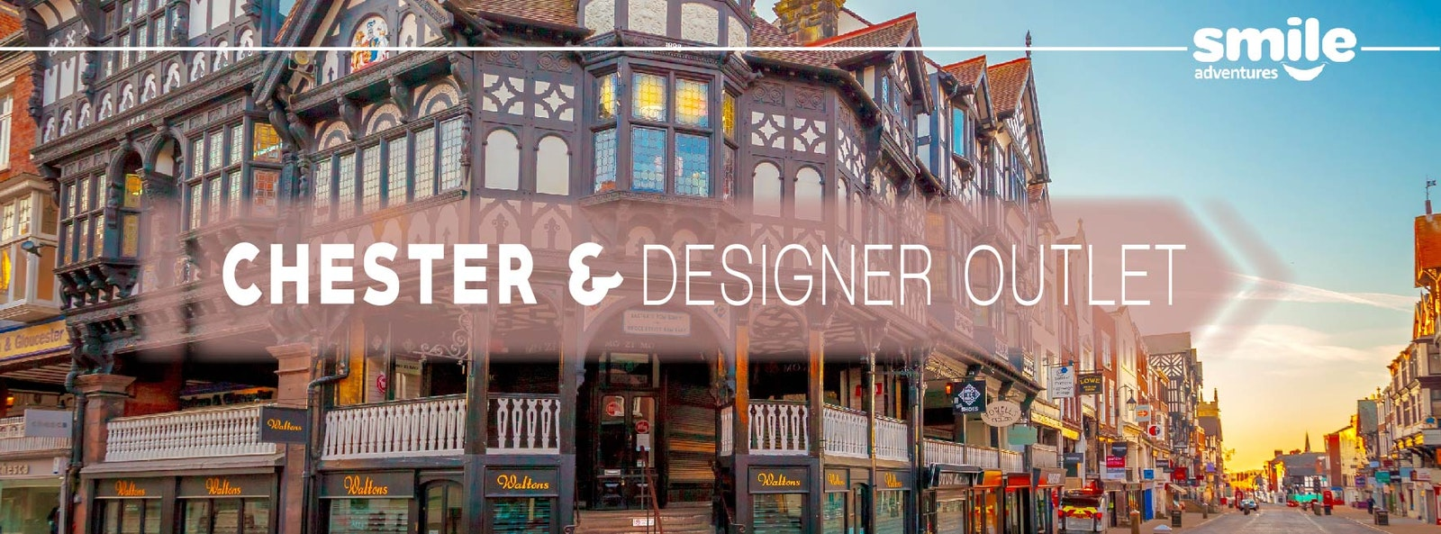 Chester Day Trip & Designer Outlet – From Manchester
