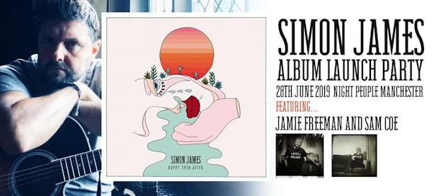 Simon James & the Deep River Pilots-Album Launch