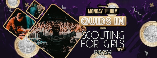 Scouting for Girls @ Quids In Mondays at PRYZM