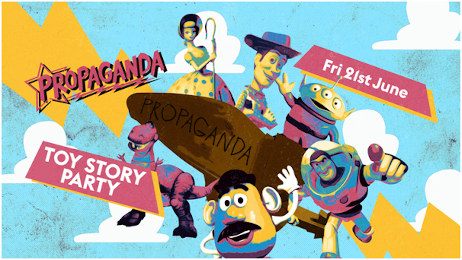 Propaganda Cambridge – Toy Story Party