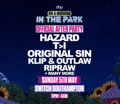 On A Mission in the park – Official Afterparty
