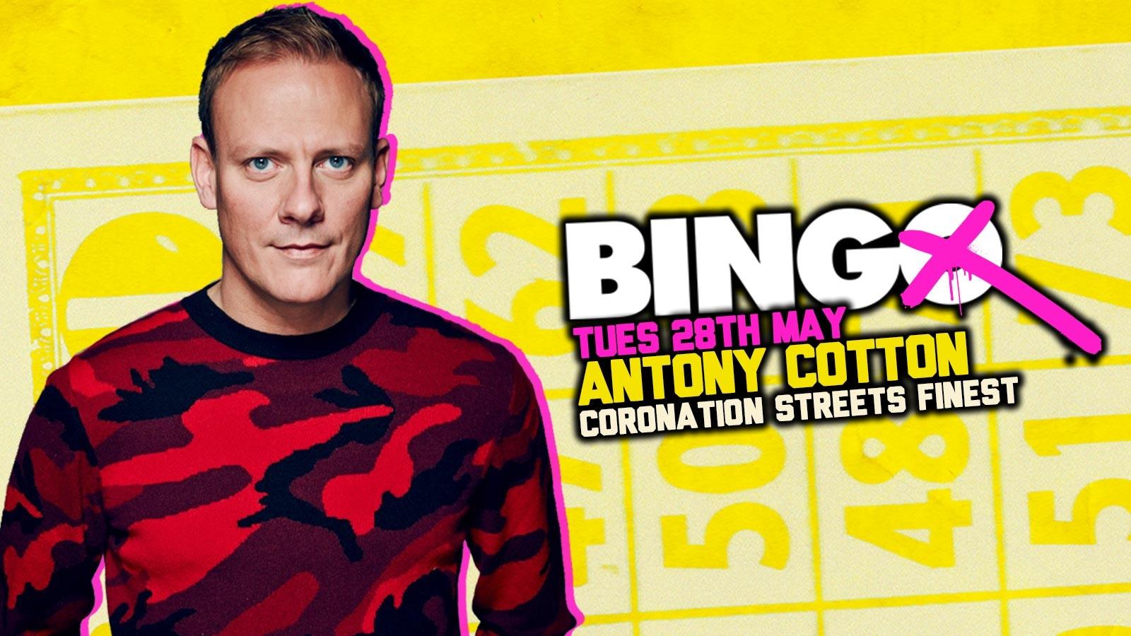 Bierkeller Bingo With Antony Cotton