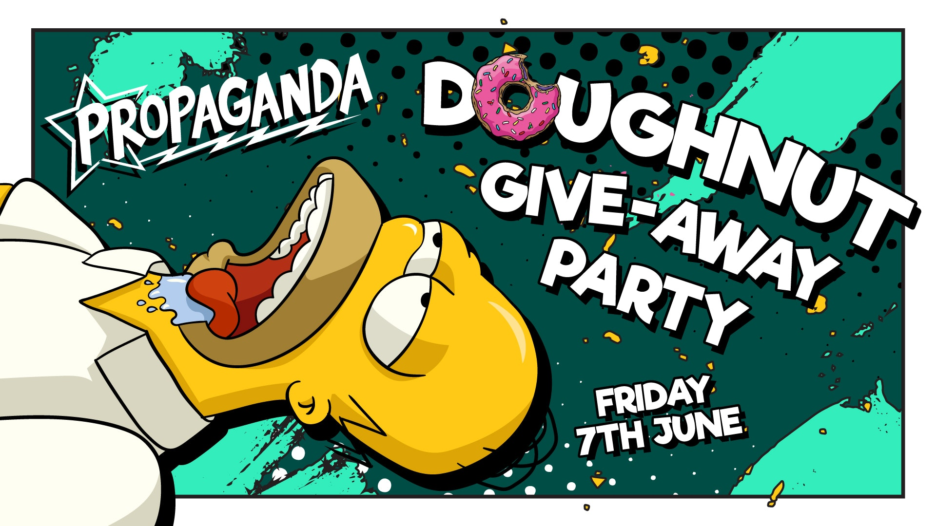 Propaganda Edinburgh – Doughnut Party