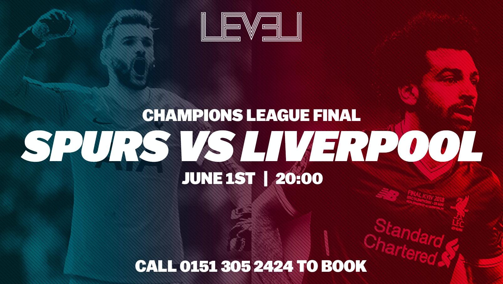 Champions League Final LIVE at Level