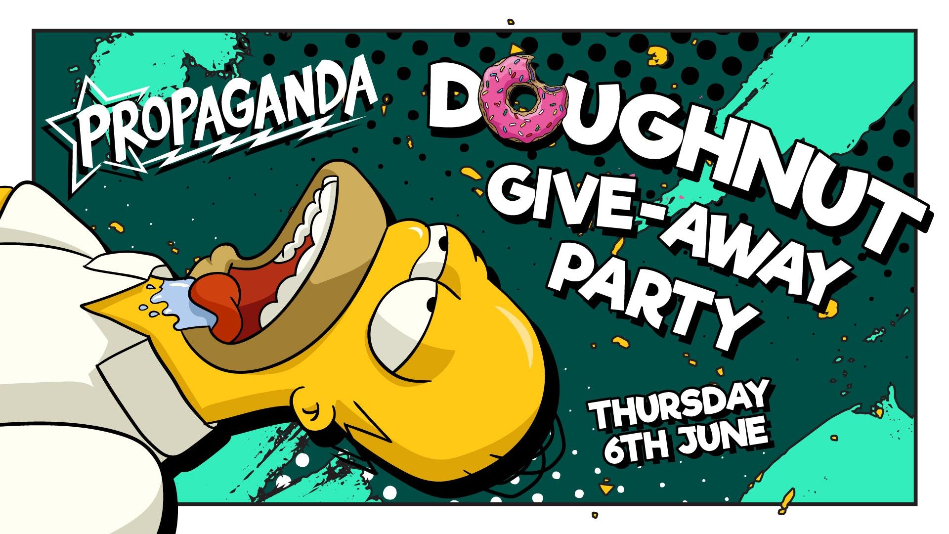 Propaganda Cheltenham – Doughnut Party