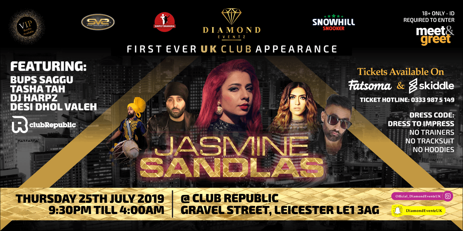 ✭JASMINE SANDLAS LIVE APPEARANCE @ CLUB REPUBLIC✭