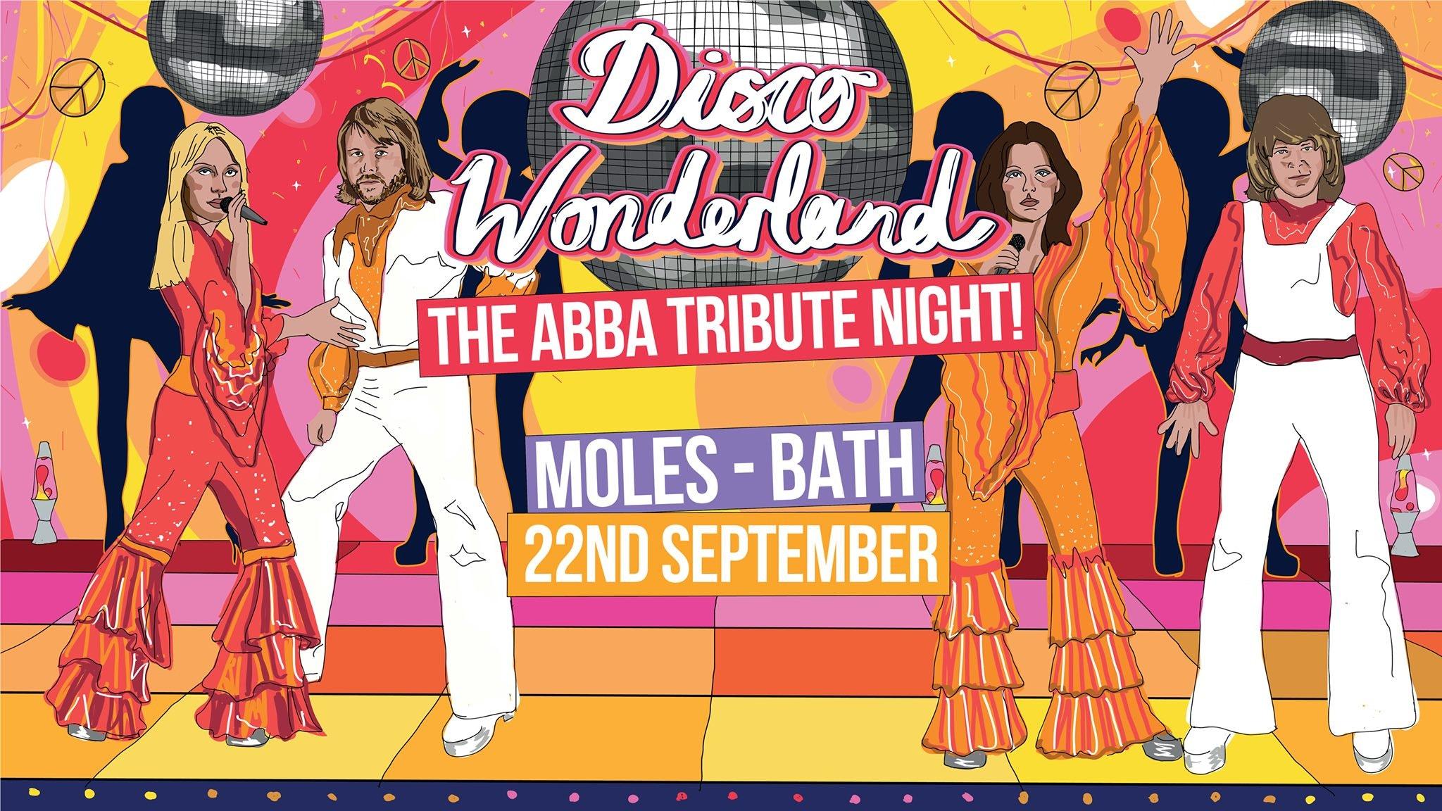 Disco Wonderland: Bath (ABBA Tribute Club Night)