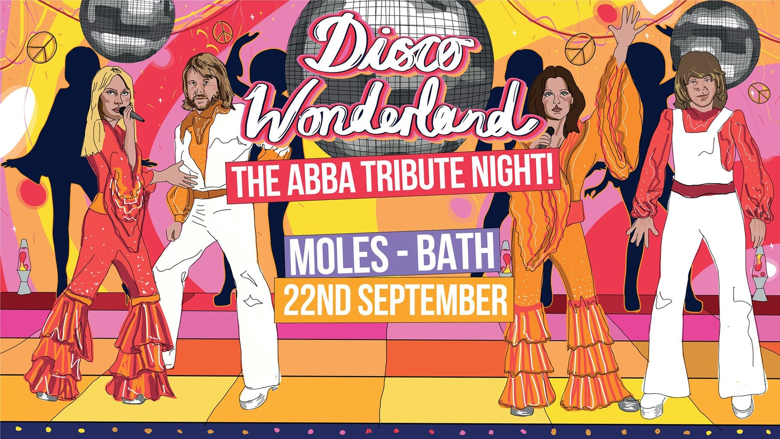 Disco Wonderland: Bath (ABBA Tribute Club Night)