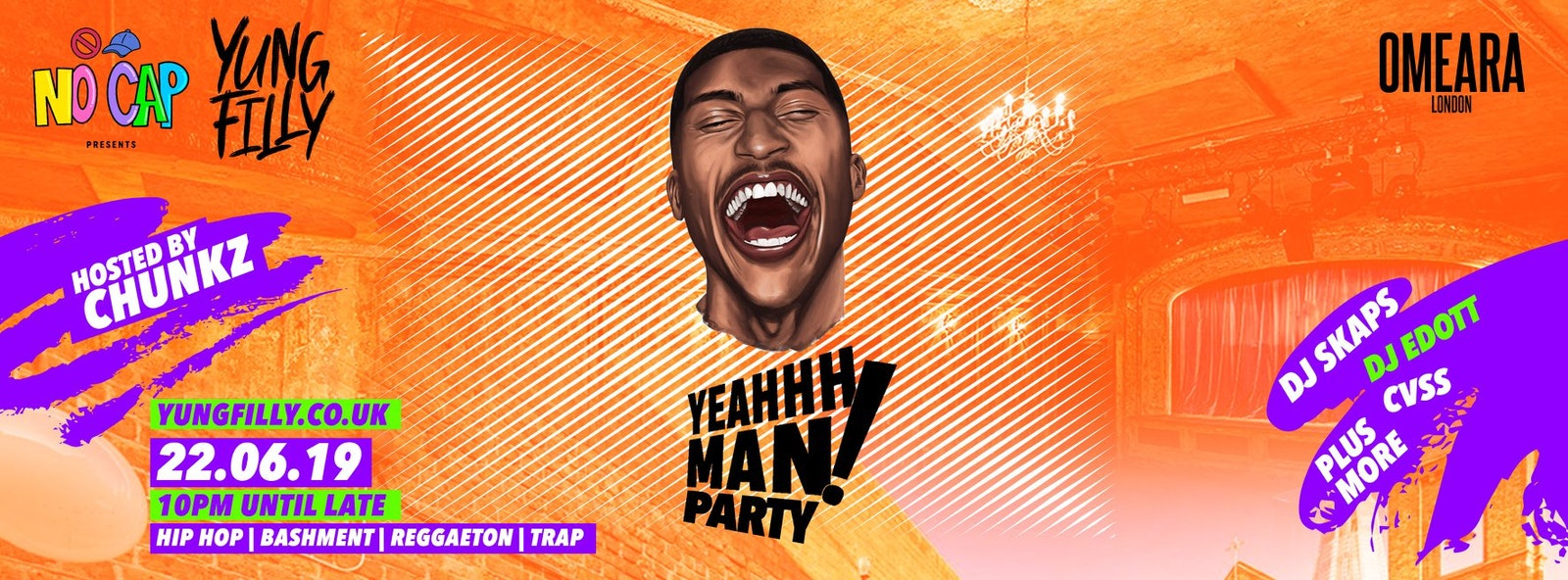 No Cap Presents: Yung Filly's YeahhhMan Party