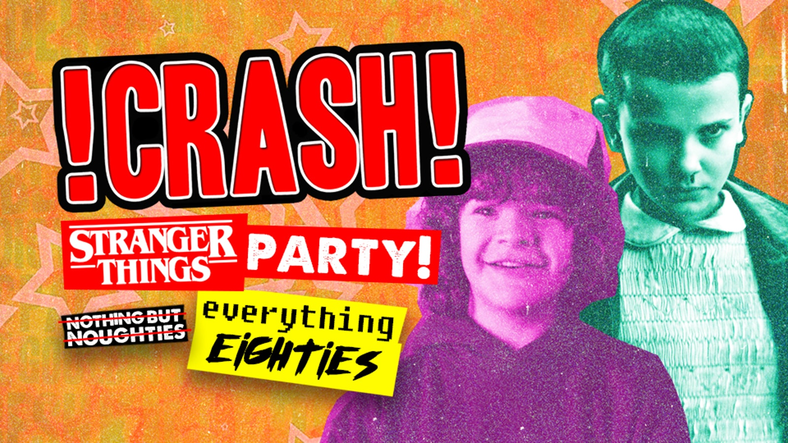 Stranger Things Party at Crash | £2 Entry & 2 4 1 Drinks!