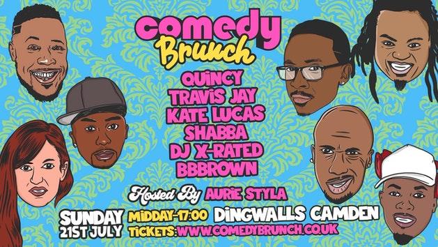 Comedy Brunch – 21st July