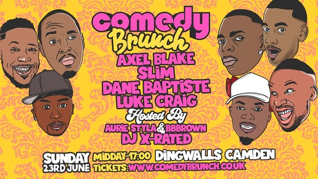 Comedy Brunch – 23rd June