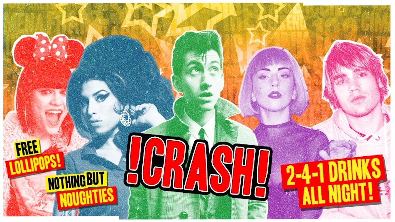 CRASH – Nothing But Noughties! 2-4-1 Drinks All Night!