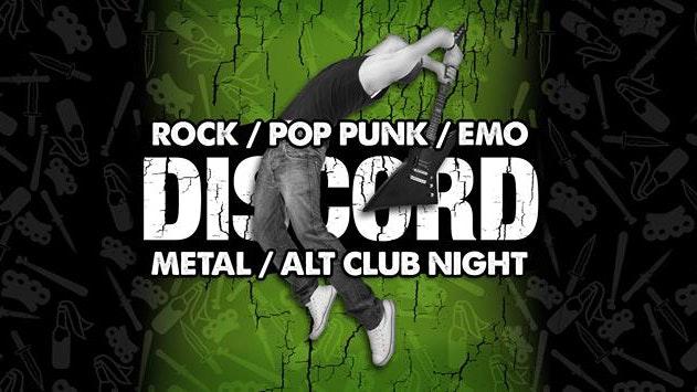 DISCORD – Rock, Pop Punk, Emo & Metal!