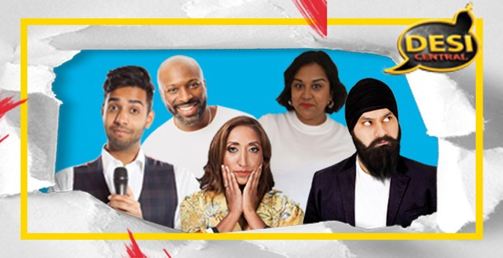 Desi Central Comedy Show : Harrow