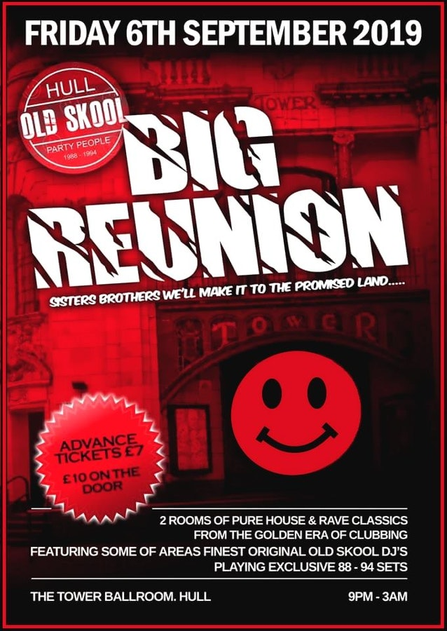 Old skool party people BIG REUNION
