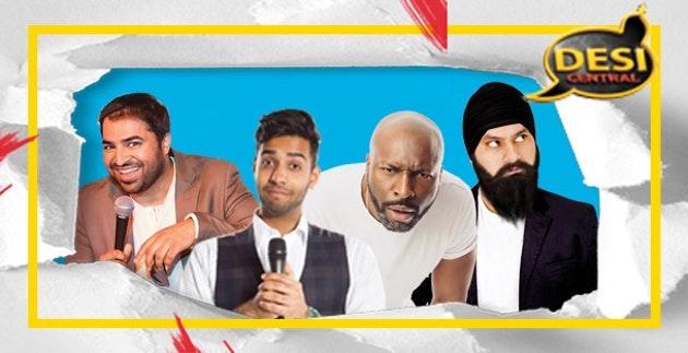 Desi Central Comedy Show : Leicester