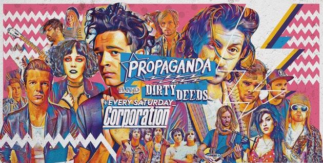Propaganda Sheffield & Dirty Deeds